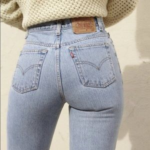 NWT Levi's 501 High Waist wedgie fit Jeans Re/Done
